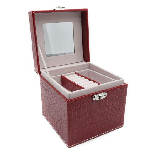 square-red-polished-crocodile-travel-jewellery-box-2