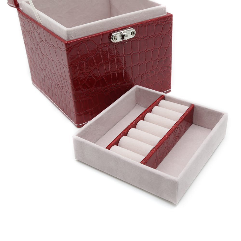square-red-polished-crocodile-travel-jewellery-box-5