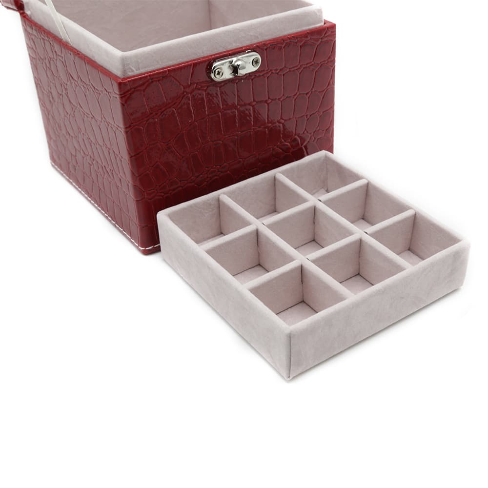 square-red-polished-crocodile-travel-jewellery-box-4