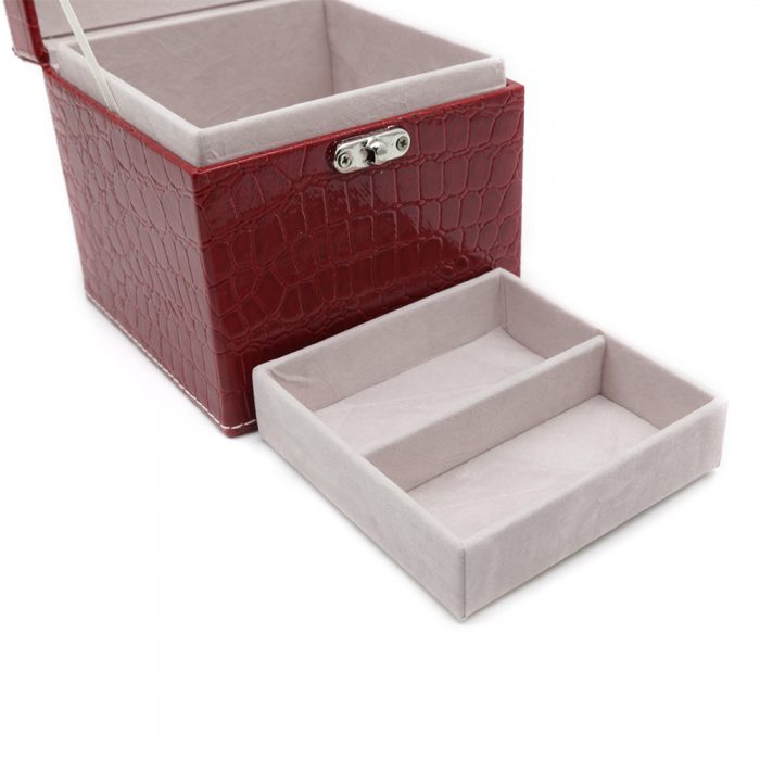 square-red-polished-crocodile-travel-jewellery-box-3