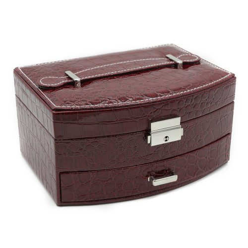 bordeaux-crocodile-jewellery-box-w/-draw-1