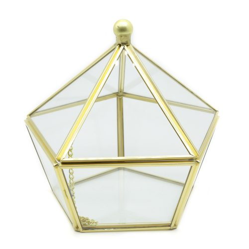 golden-glass-pentagon-jewellery-box-1