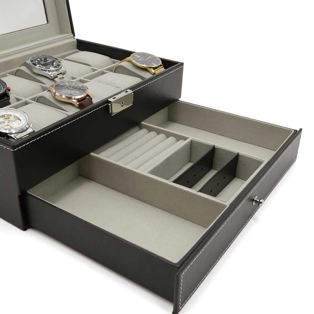2-level-12-slot-mens-jewellery-box-black-3