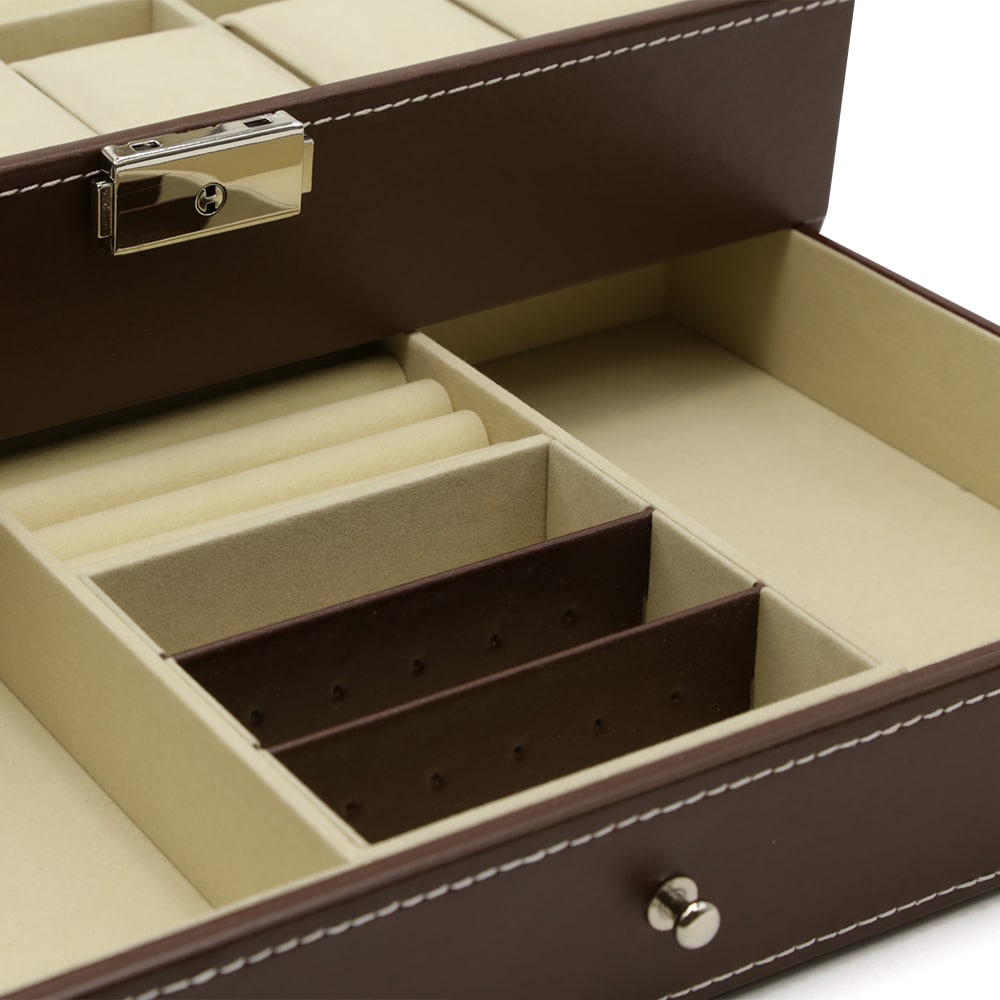 2-level-12-slot-mens-jewellery-box-brown-3