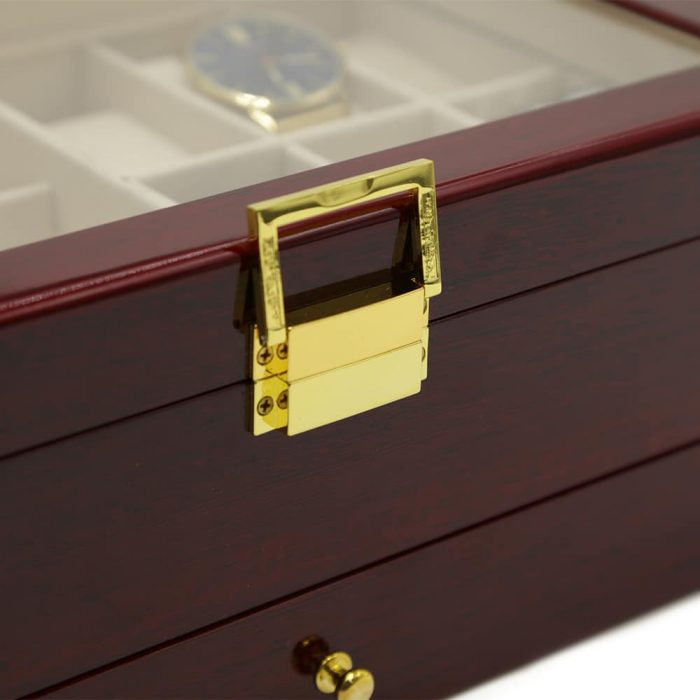 maple-mahogany-2-level-watch-box-organiser-7